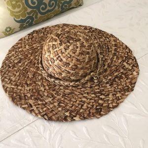 Vntg Liz Claiborne straw hat - excellent condition